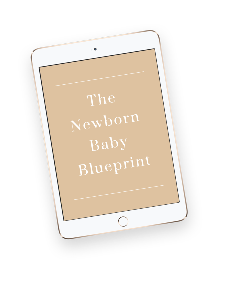 The Newborn Baby Blueprint is an online course about everything you need to know about having and raising a newborn baby.