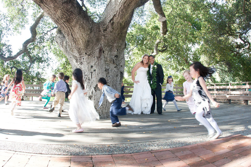 children playing at wedding, wedding photography