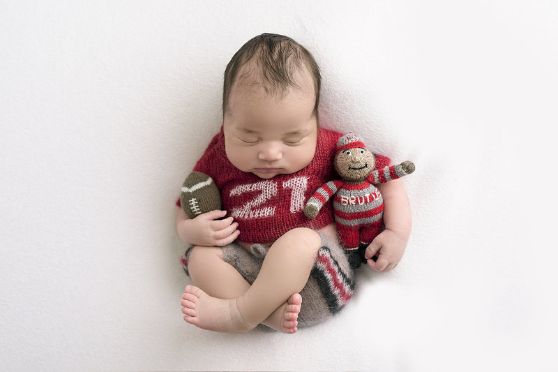 Parris Campbell Ohio State Football  NFL brian hartline best columbus ohio newborn photographer