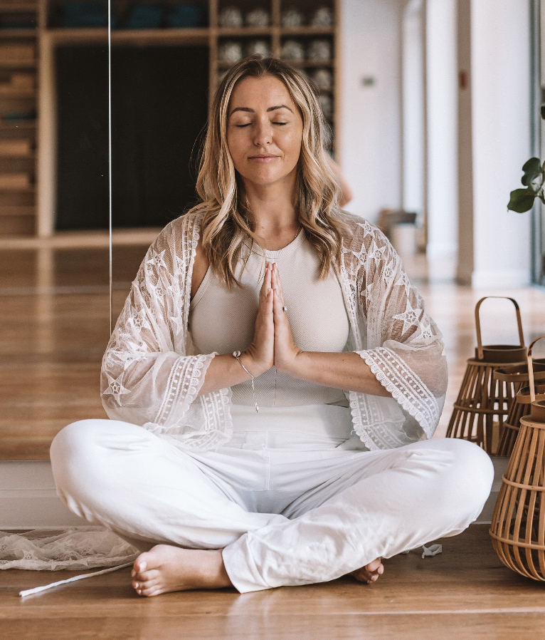 MEDITATE WITH PHOEBE GREENACRE