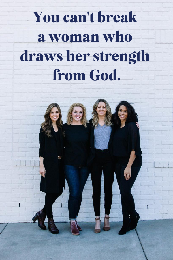 Books for Christian women. Standng Strong by Alli Worthington.