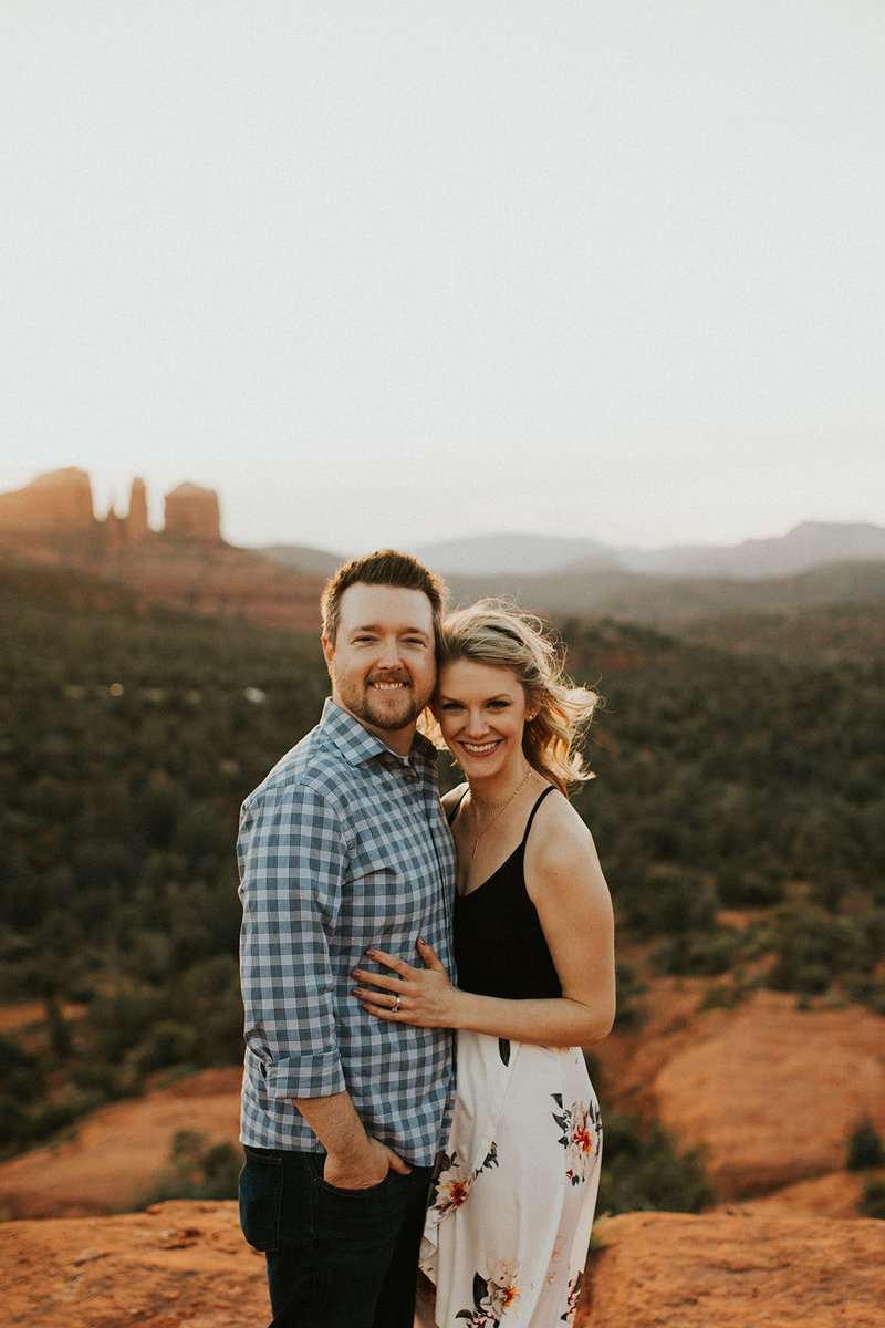 Kyle and Sarah husband and wife videography team in Arizona