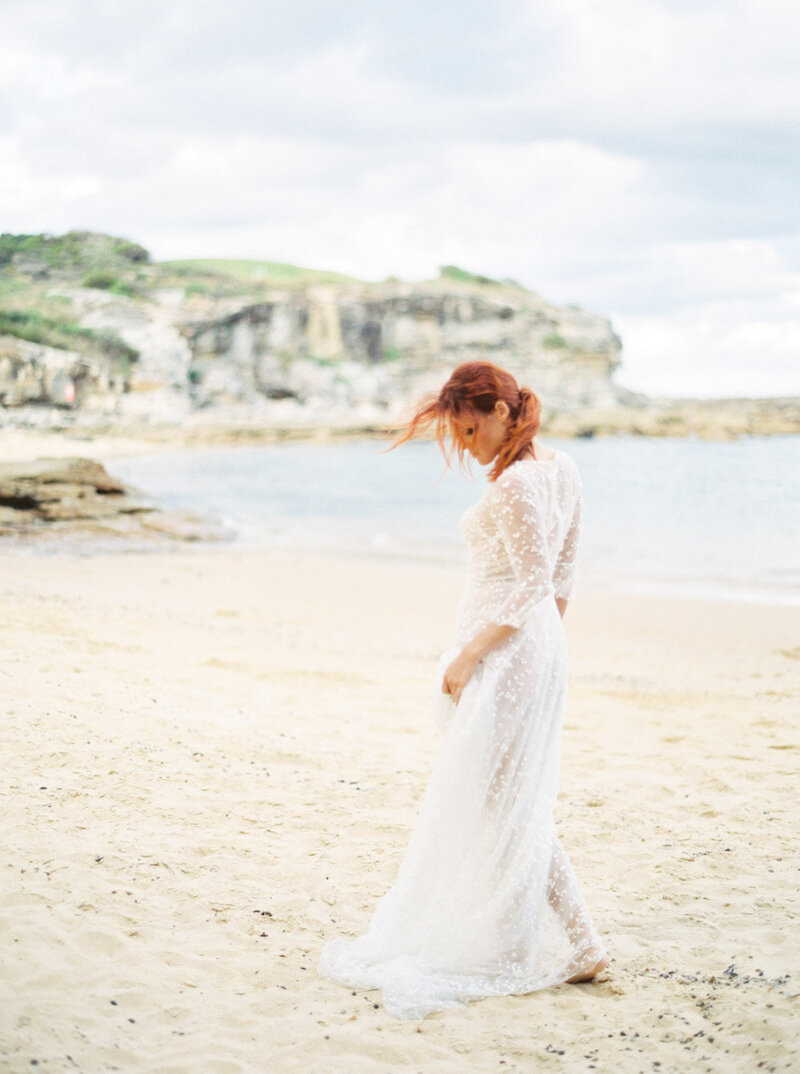 Sydney Fine Art Film Wedding Photographer Sheri McMahon - Sydney NSW Australia Beach Wedding Inspiration-00043