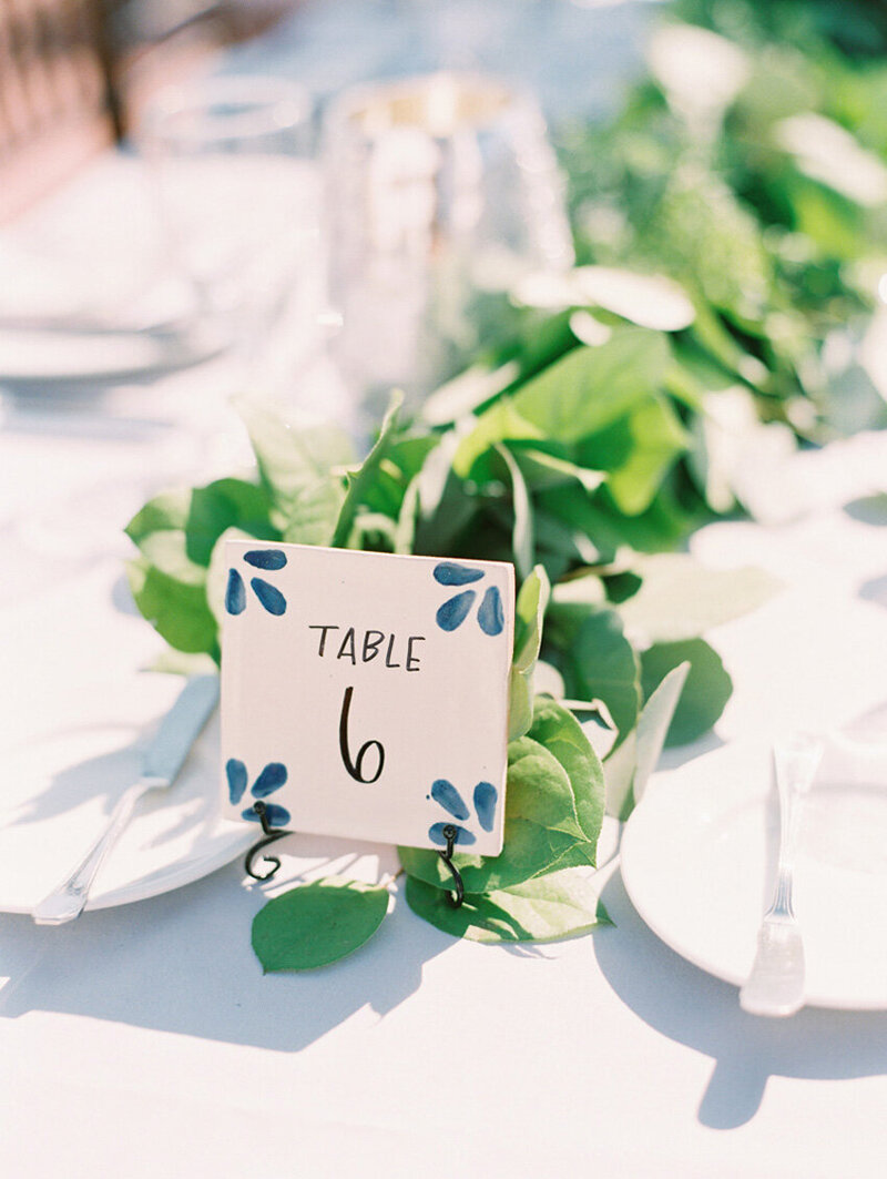 pirouettepaper.com | Wedding Stationery, Signage and Invitations | Pirouette Paper Company | Table Numbers 91