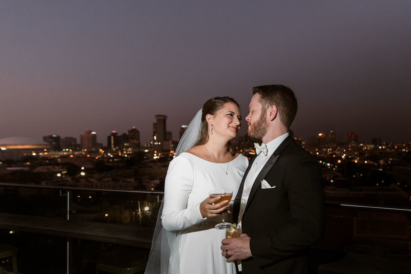 New Orleans Wedding Photography | Hot Tin Pontchartrain Hotel Elopement-8