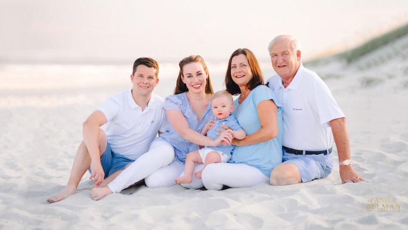 This adorable family session was photographed in Pawleys Island, South Carolina by one of the most recognized Family Photographer Pasha Belman. -9