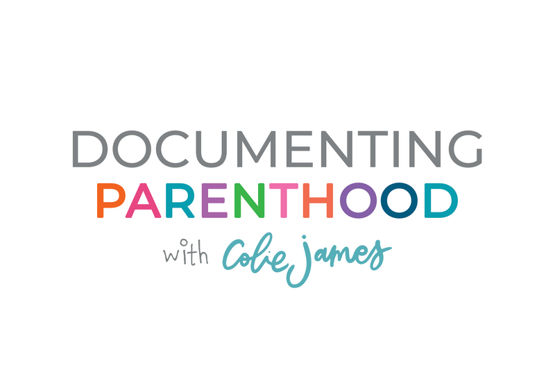 documenting parenthood with colie james