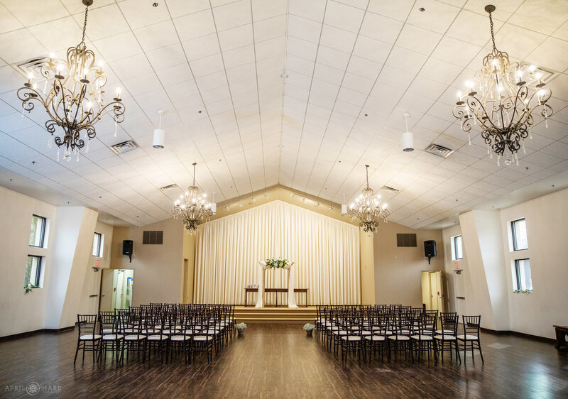 Indoor Chapel at Black Forest by Wedgewood Weddings