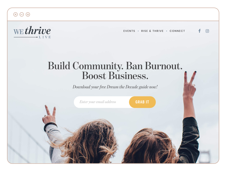 wethrive-wordpress-website