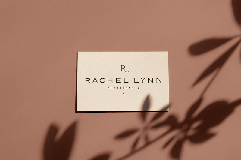 Rachel Lynn Photography - Custom Brand Logo and Showit Web Design Website Design by With Grace and Gold - Photo - 0