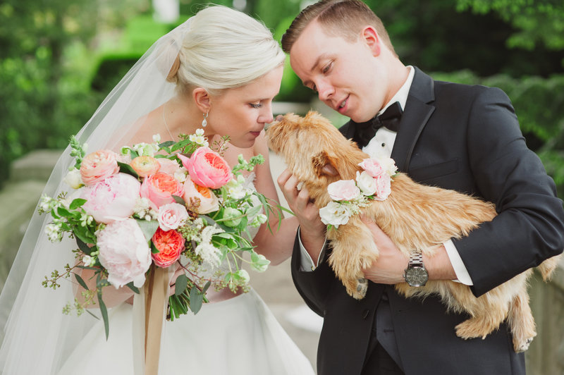 Indianapolis-Musuem-Of-Art-Wedding-Bride-Groom-With-Puppy-Stacy-Able-Photography-Jessica-Dum-Wedding-Coordination_photo1