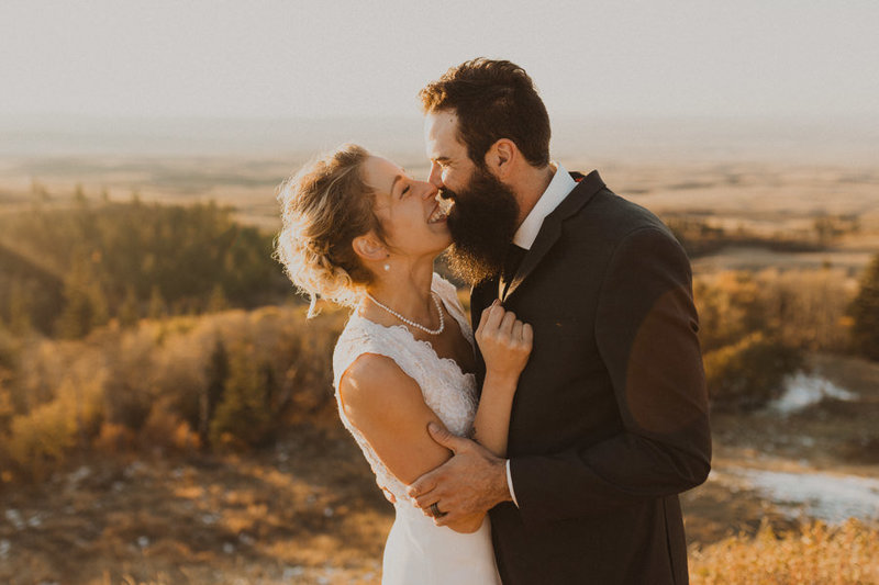 cypress hills golden hour wedding photography