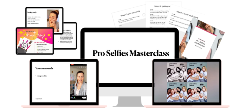 Pro Selfies Course Previews