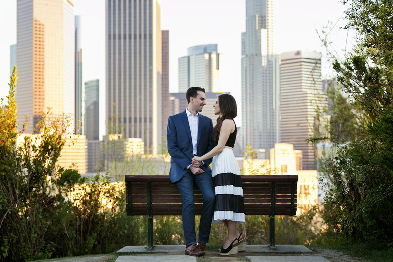 romantic vista hermosa park e-session los angeles photographer