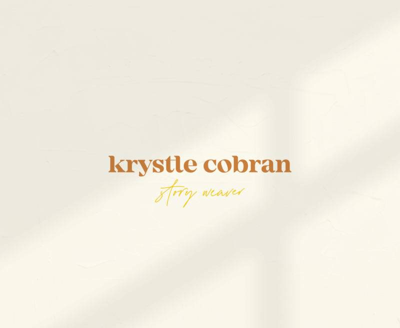 Krystle Cobran is an anti-racism educator and author based in Athens, Georgia. Rhema Design Co had the honor of working on her branding.