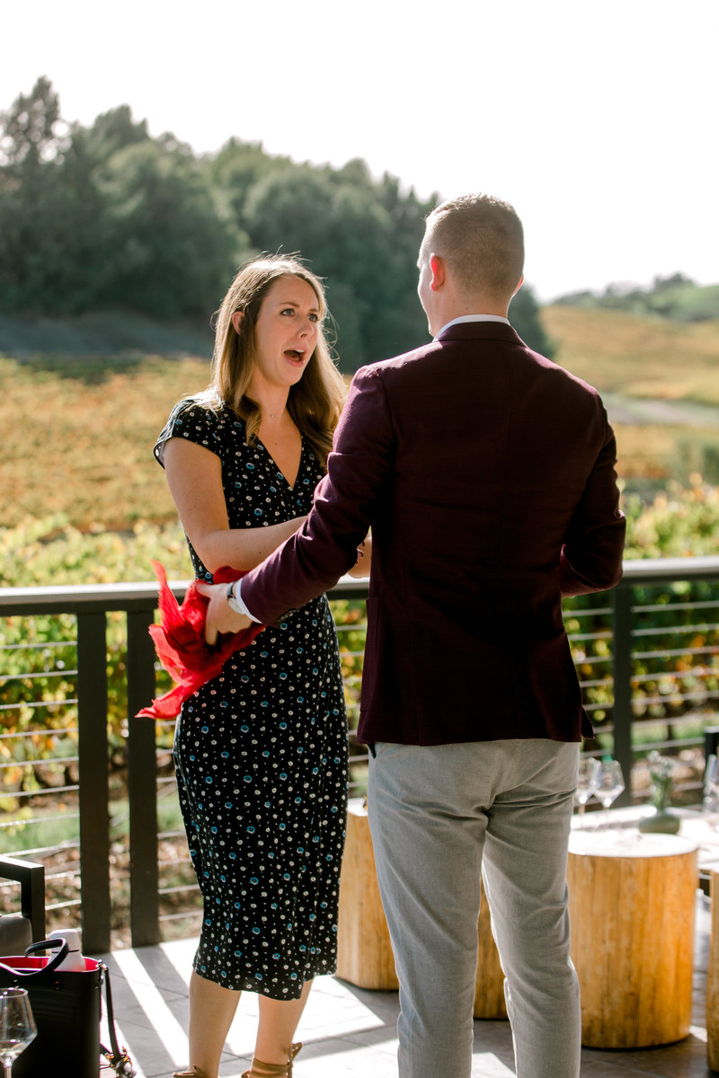 surprise proposal at macrostie winery