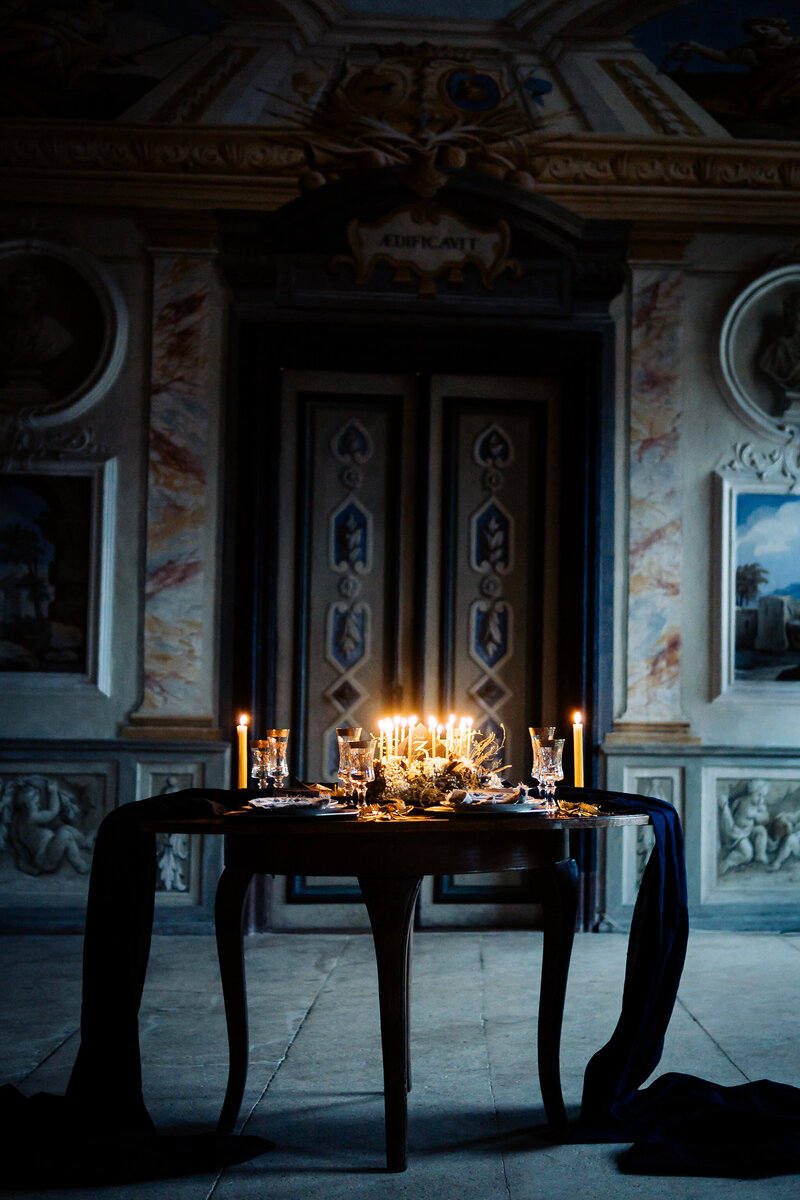 Luxury Fine Art Wedding Dinner Table