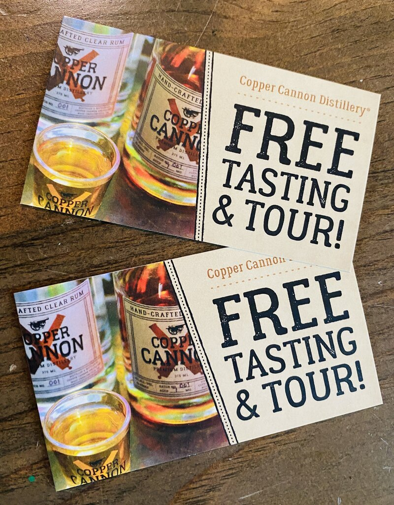 Copper Cannon Free Tasting & Tour
