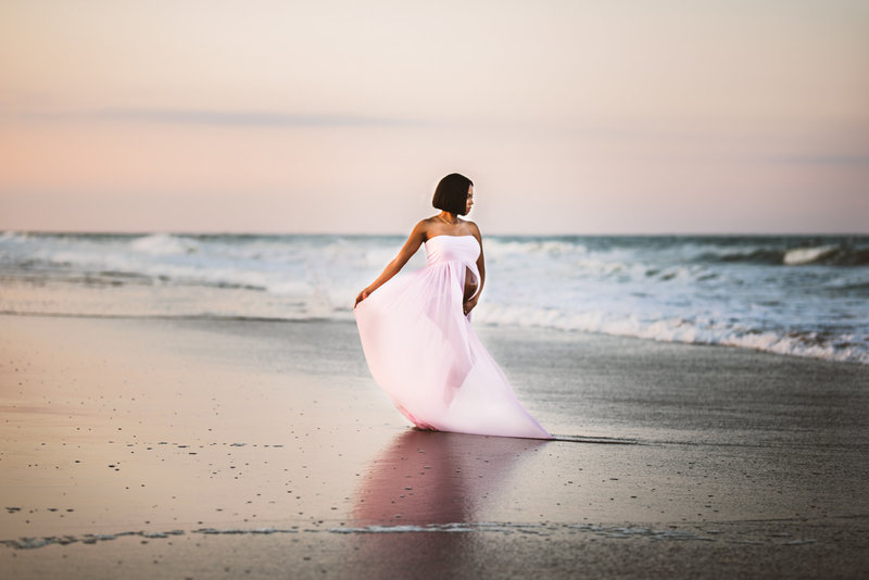 Maternity Session in Virginia Beach Virginia with Crystal Cofie Photography