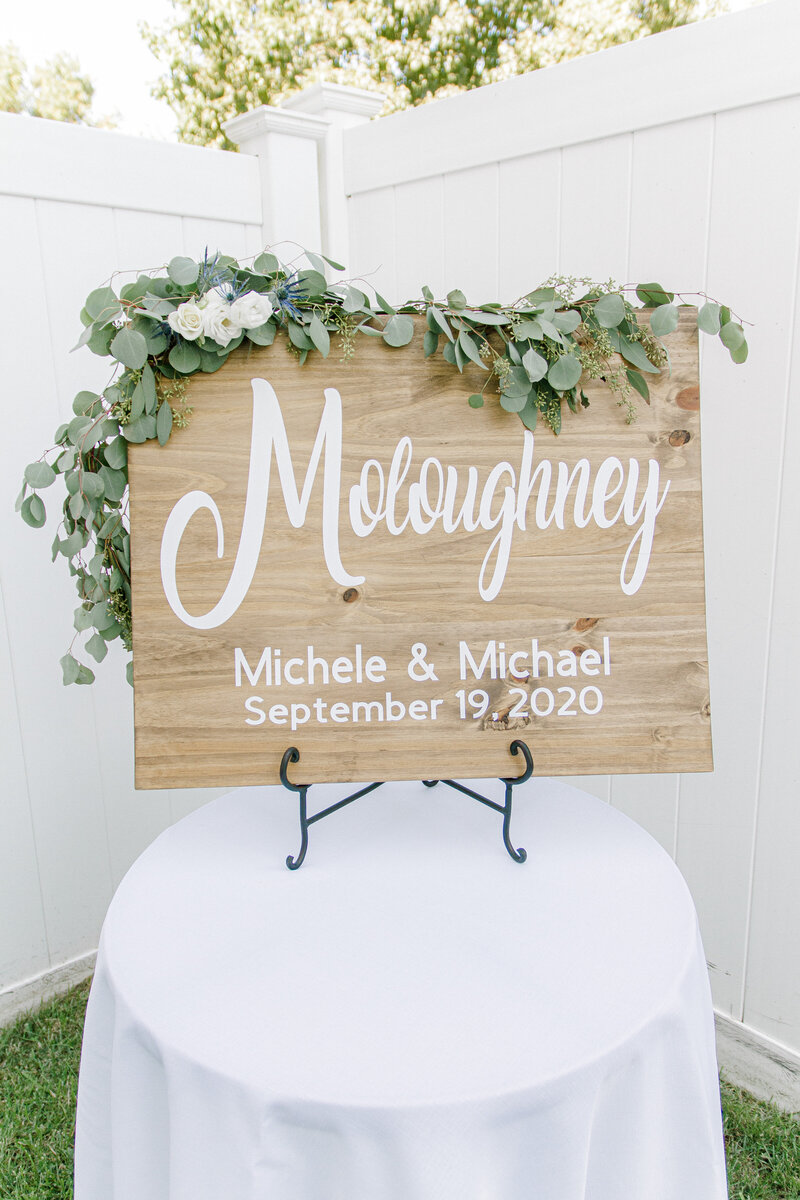 Michele & Michael Intimate Wedding 9-19-20 | Details20