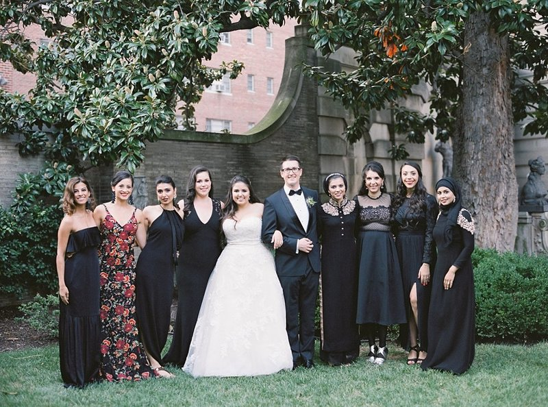 23-diverse-bridal-party-in-black-dresses