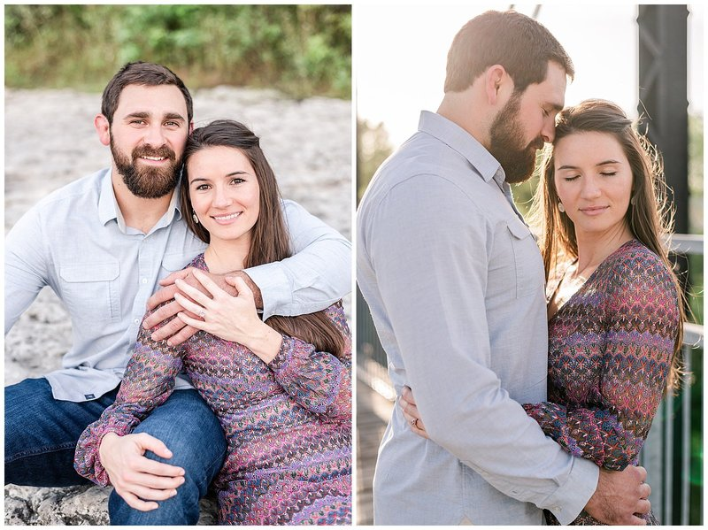 Faust Street Engagement | Holly + Cristian 16