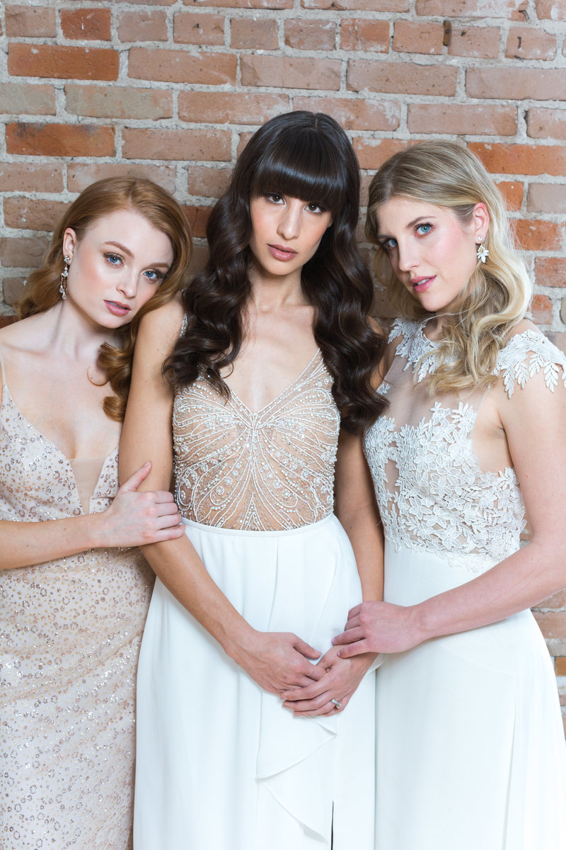 Three Bridal hairstyle inspirations