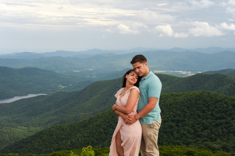 Nate and Tawny at Craggy Gardens with Amanda Lunsford photography (44)