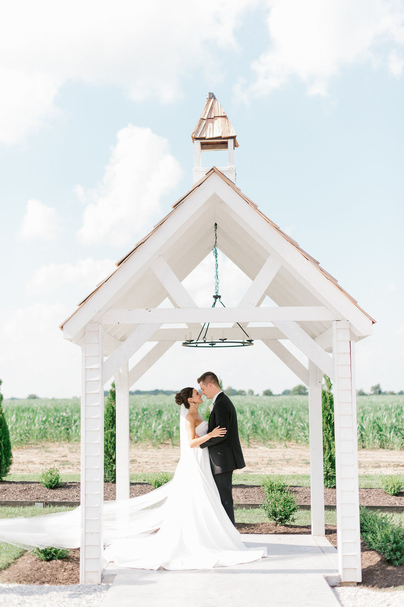 Bride & Groom Outdoor Chapel