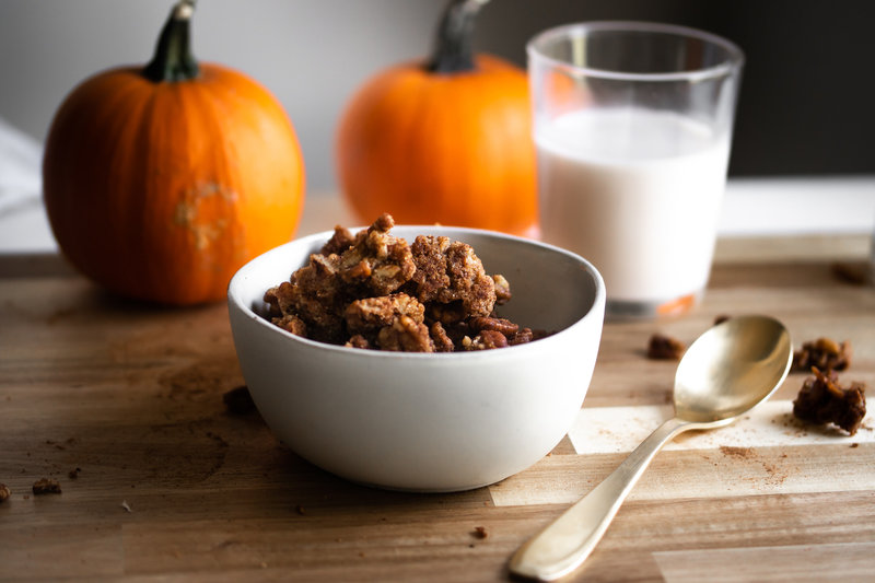 Lolli's Low Carb Pumpkin Spice Granola-0762
