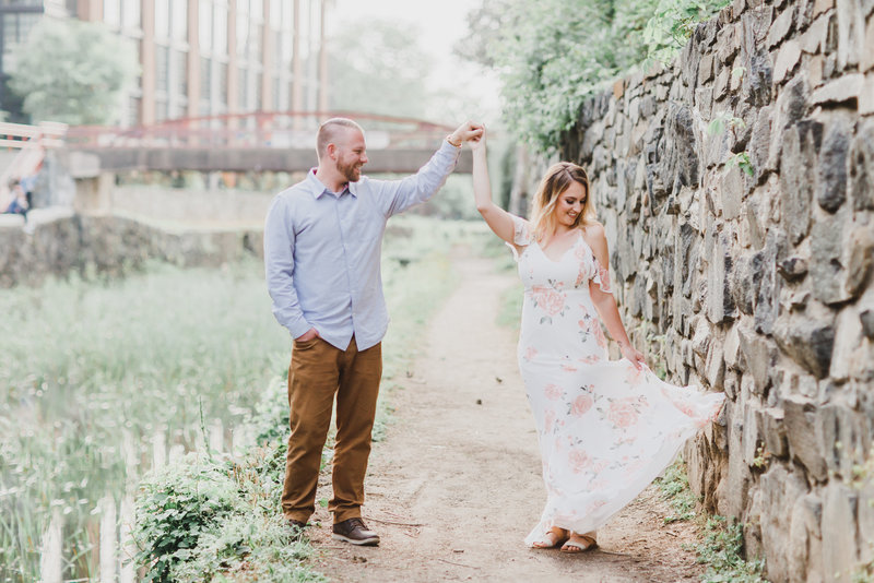 Georgetown Engagement Session - M Harris Studios-839