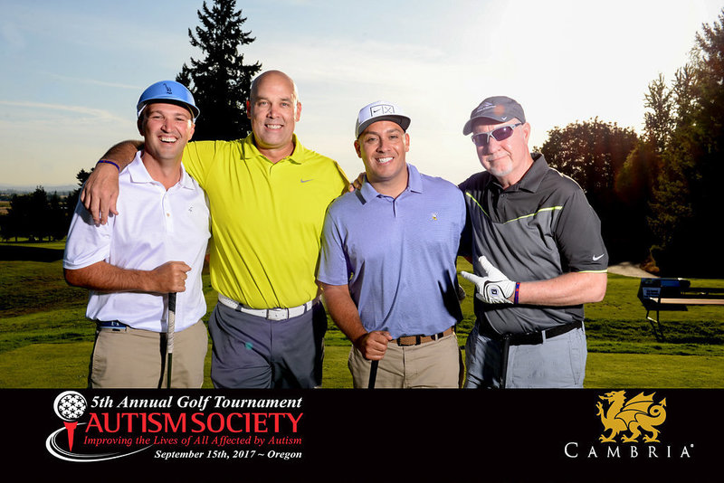 Charity golf tournament photographer