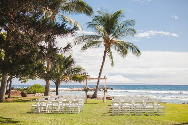 Olowalu Plantation Hosue Wedding Package