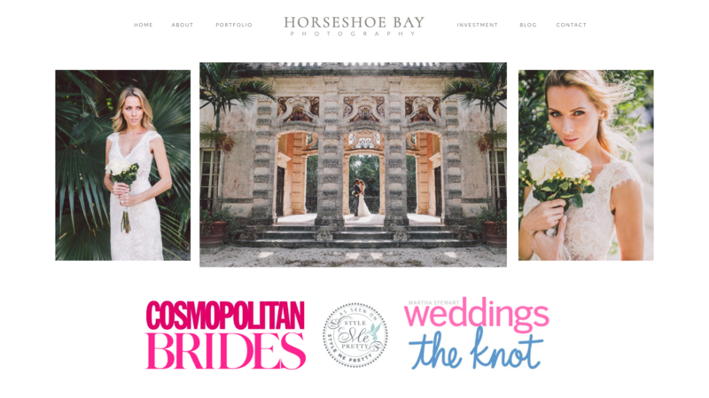 ShowIt Website Template Horseshoe Bay Kyle Goldie