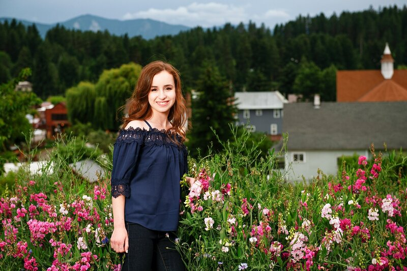 Senior Portrait Photographer Ellensburg WA
