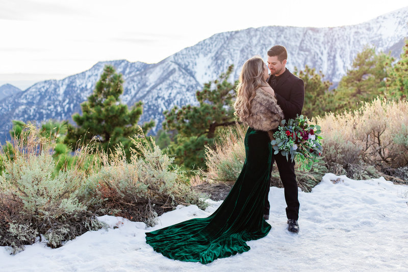 Wrightwood Shootout, Snow Engagement, Snow Elopement, Mountain Elopement, Yosemite Elopement, Wrightwood Elopement, Wrightwood Engagement, Mountainside Bride, Mountainside Elopement-24