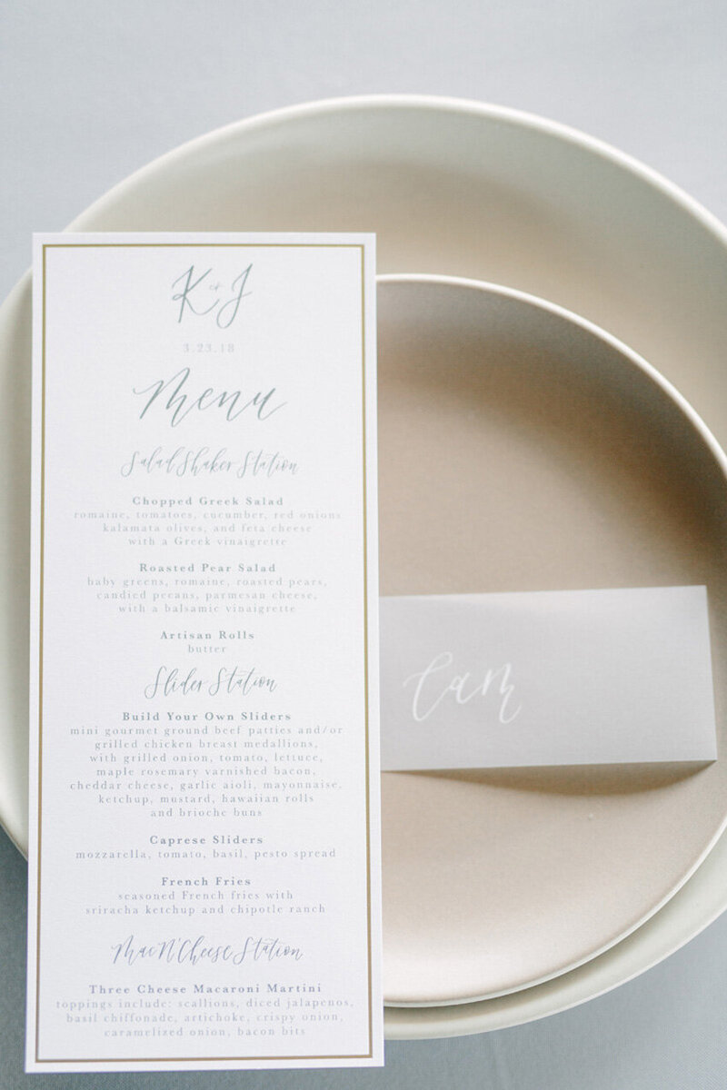 pirouettepaper.com | Wedding Stationery, Signage and Invitations | Pirouette Paper Company | Menus + Programs 33