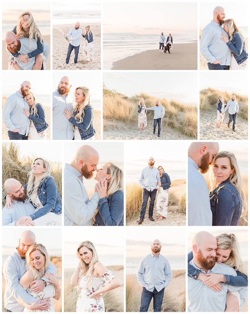 College of engagement photos from Dana Arnold Photography | Monterey wedding photographer