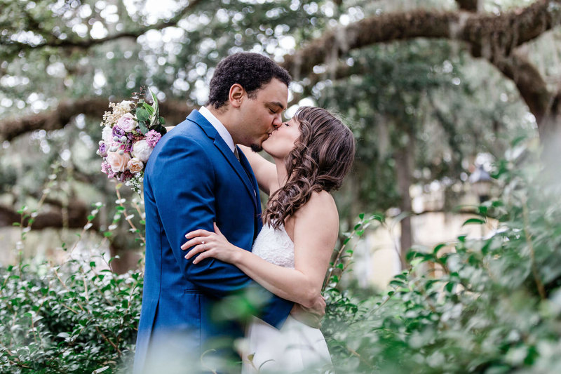 Robyn and Michael's intimate Savannah elopement