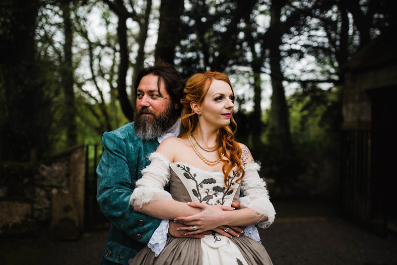 Wolf + Charlena-Outlander-Inspired-Wedding-Old-Glencorse-Kirk-Scotland_Gabby Chapin Photography_Print_0373