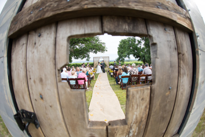 country wedding ceremony, country wedding