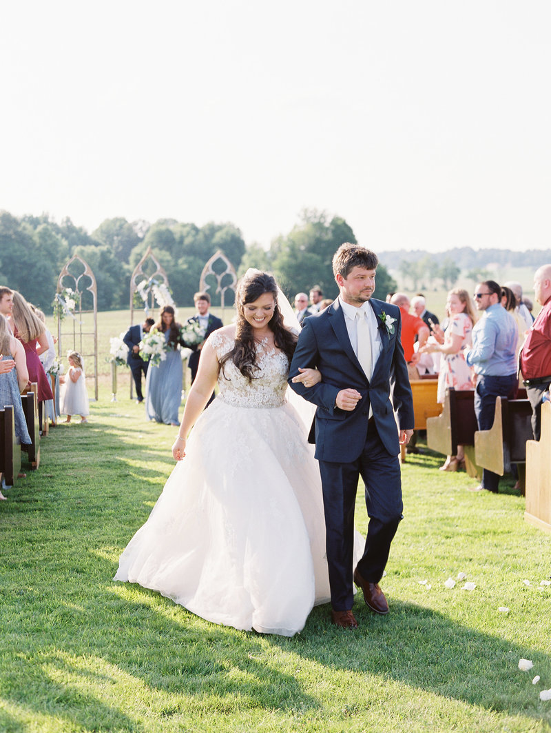 Spring Outdoor Ceremony and Reception by Sharin Shank Photography