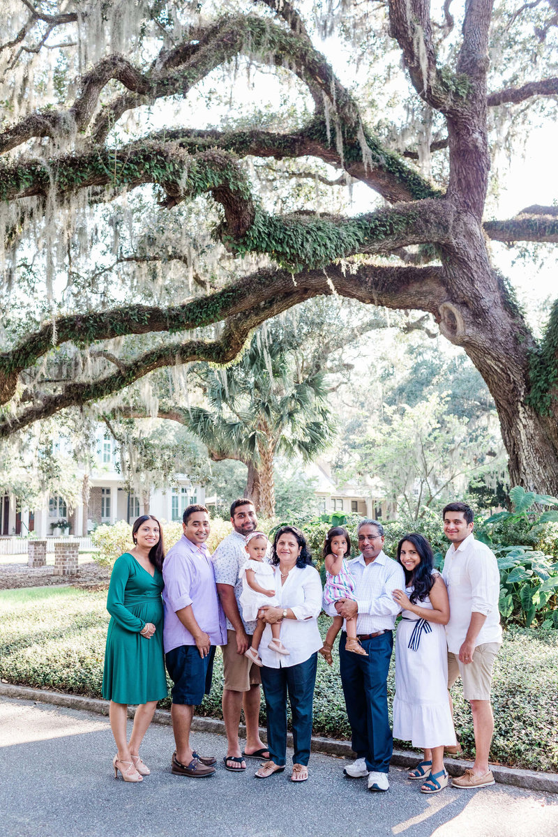 The Singhal Family - Montage Palmetto Bluff Family Session