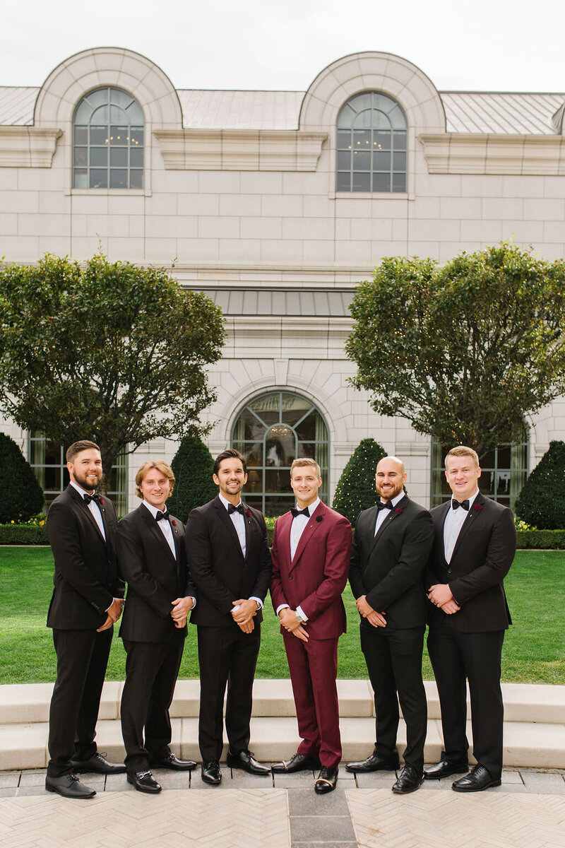formal-black-tux-bowtie-groomsmen