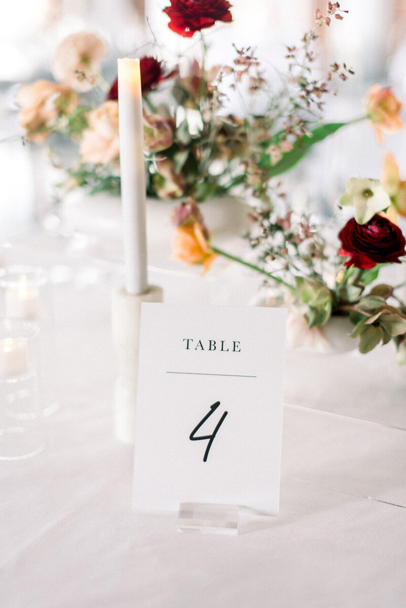 pirouettepaper.com | Wedding Stationery, Signage and Invitations | Pirouette Paper Company | Table Numbers 65