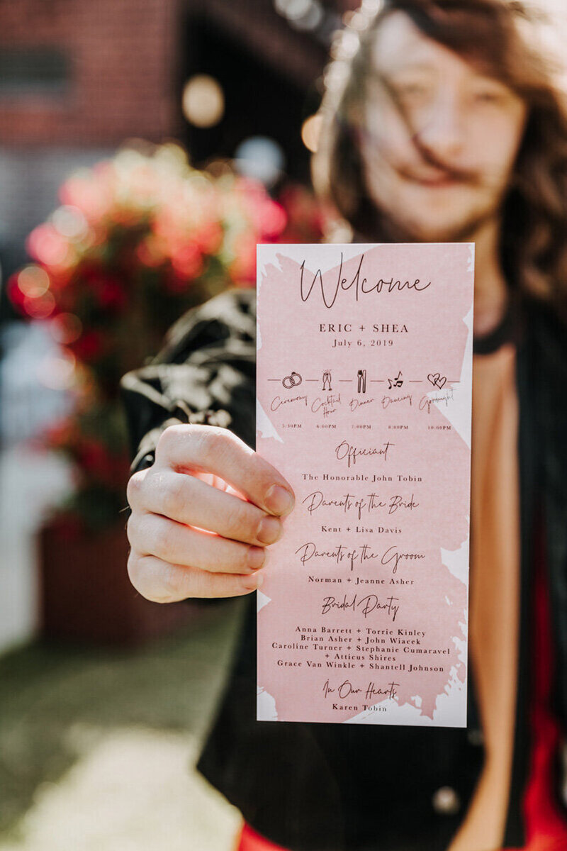 pirouettepaper.com | Wedding Stationery, Signage and Invitations | Pirouette Paper Company | Menus + Programs 22