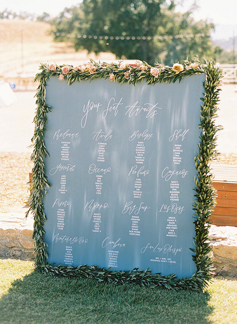 pirouettepaper.com | Wedding Stationery, Signage and Invitations | Pirouette Paper Company | Seating Charts 88