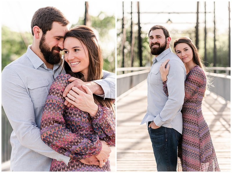 Faust Street Engagement | Holly + Cristian 001