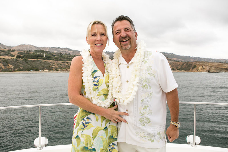 OC couple gets married on a boat