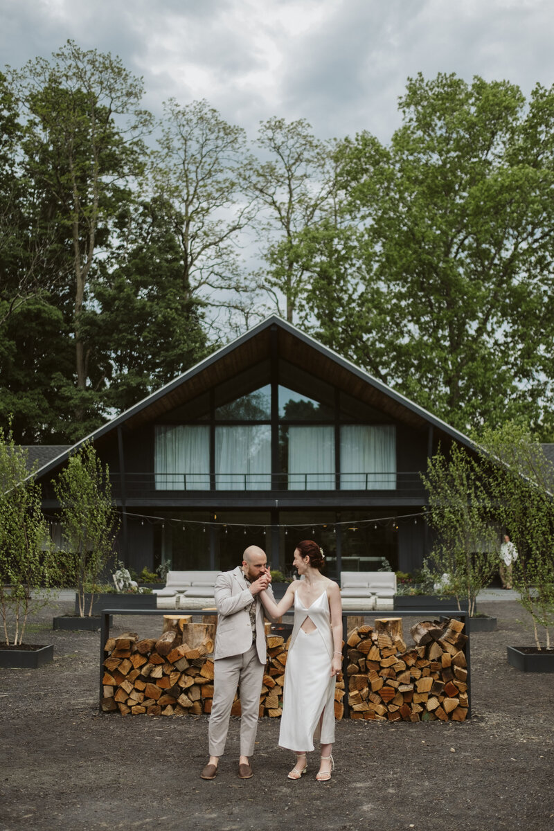 Catskills Microwedding at The Woodhouse Lodge